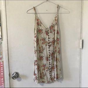 2Bella Floral Button Down Dress